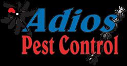 adios pest control logo